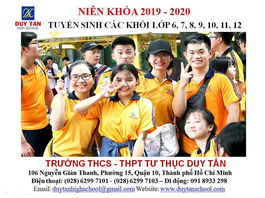 Duy Tan Tuyen Sinh 2019