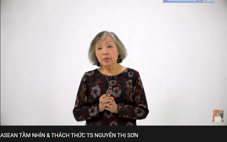 Video bài giảng về ASEAN tầm nhìn và thách thức  dành cho các bạn học sinh khối THPT - TS Nguyễn Thị Sơn