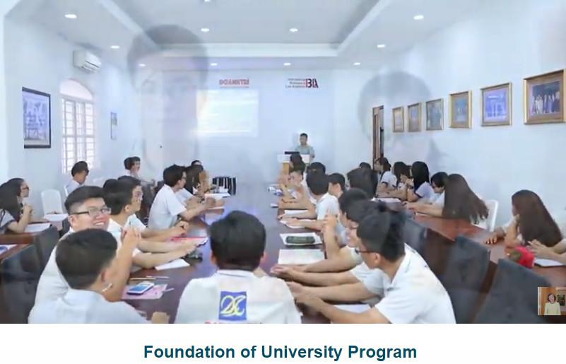 Trường THCS, THPT Duy Tân nơi các em học sinh được khuyến khích thực tập, thực hành nghiên cứu về các đề tài mà các em yêu thích