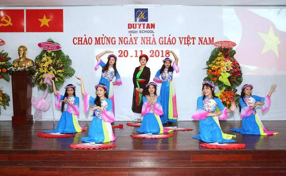 Trường THCS, THPT DUY TÂN chào mừng ngày Nhà Giáo Việt Nam 20-11