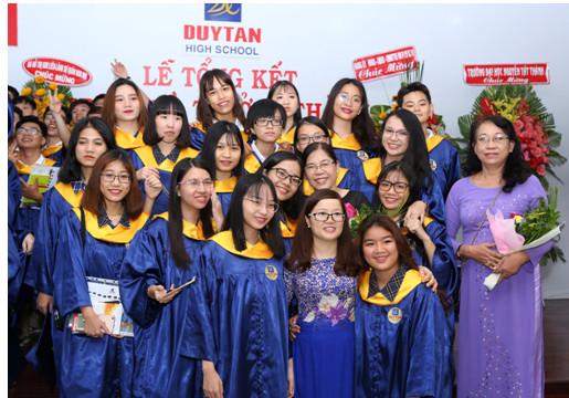 TRƯỜNG THCS, THPT DUY TÂN TPHCM-TUYỂN SINH  NĂM HỌC 2018 – 2019