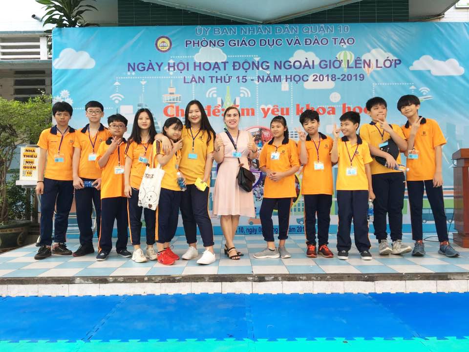 Ngày hội hoạt động ngoài giờ lên lớp, lần thứ 15, năm học 2018 – 2019, của học sinh Trường Trung học tư thục Duy Tân Quận 10