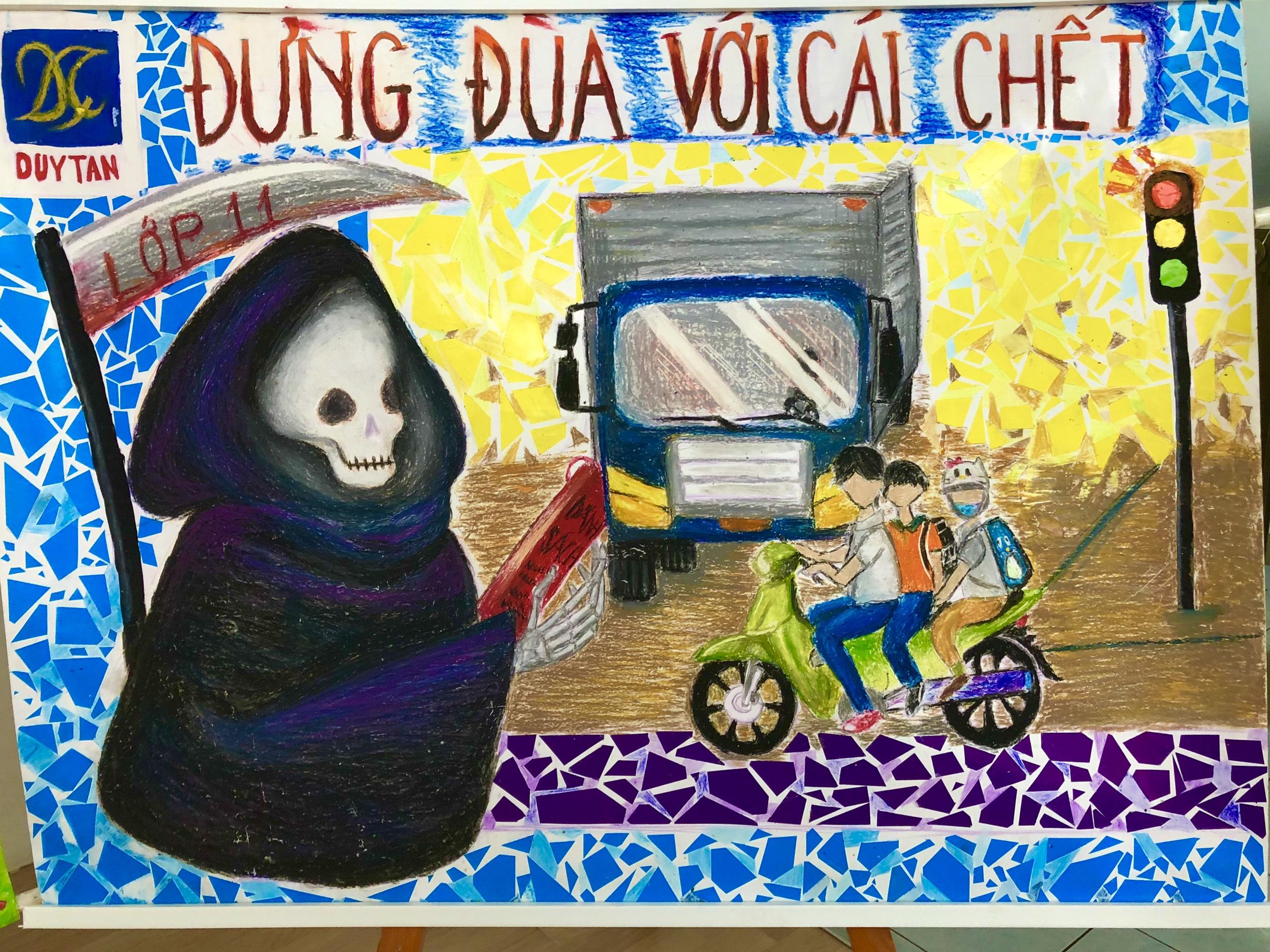 Trường THCS, THPT Duy Tân hưởng ứng ngày ngày Pháp Luật Việt Nam 9/11