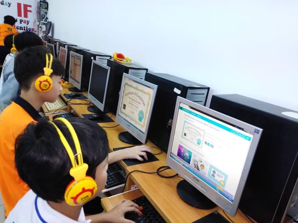 Trường THCS, THPT Duy Tân đổi mới sáng tạo viêc dạy và học trên nền tảng công nghệ thông tin