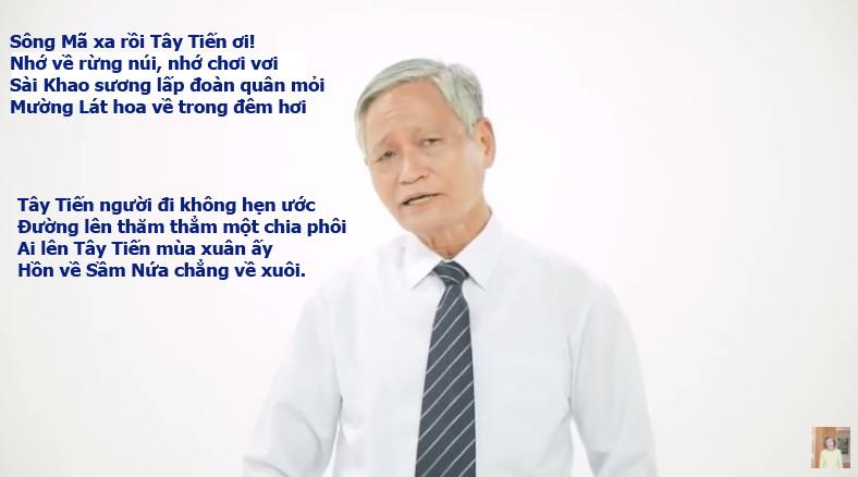 Bài giảng Bình luận văn học Bài thơ TÂY TIẾN của nhà thơ Quang Dũng do Nhà giáo Nguyễn Đình Đại trình bày