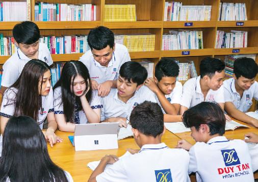 Trường THCS-THPT Duy Tân: Giáo dục trực tuyến, con đường ngắn nhất để các em học sinh trở thành công dân toàn cầu trong thời đại công nghệ 4.0